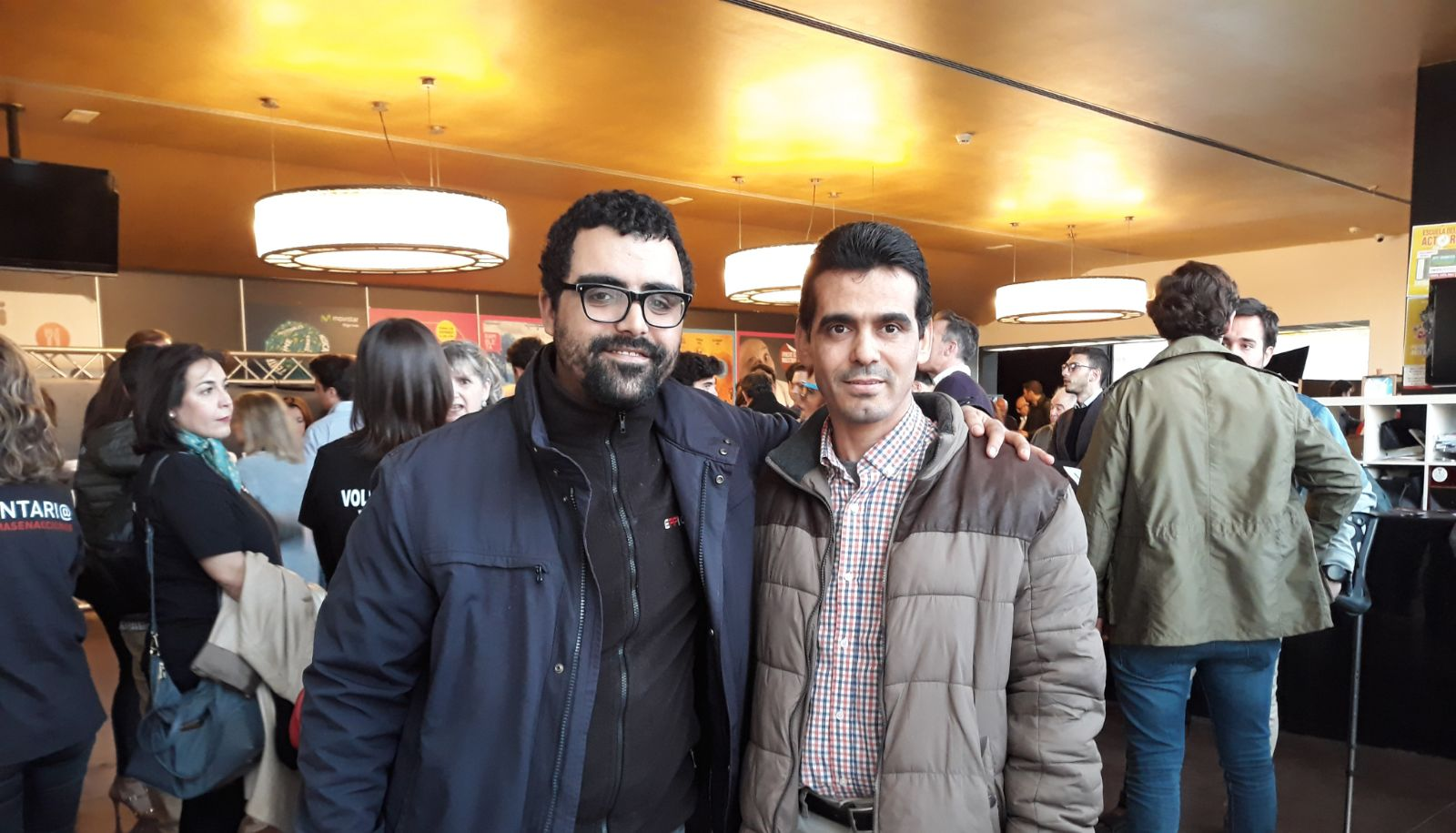 butigon equipo  Louali Salem  Duh y Hamada saleh